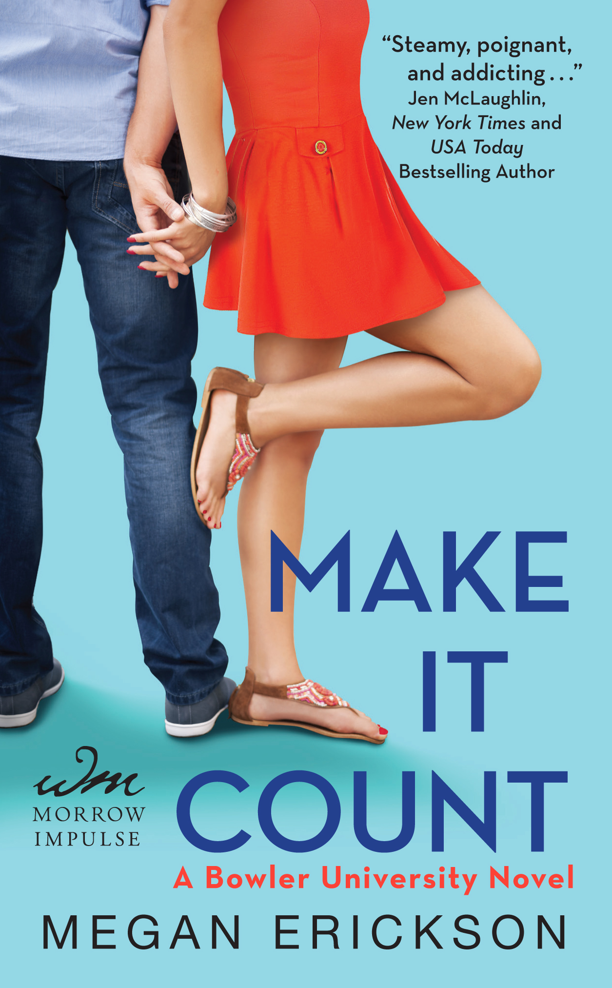 COVER REVEAL: Make It Count by Megan Erickson