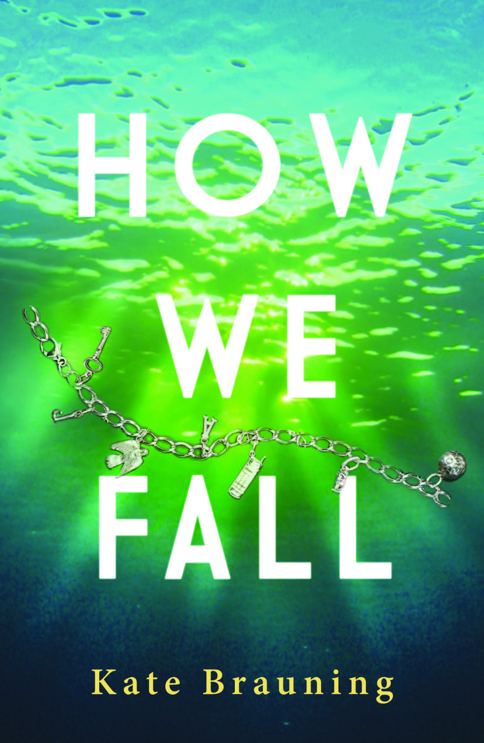 COVER REVEAL: HOW WE FALL By Kate Brauning