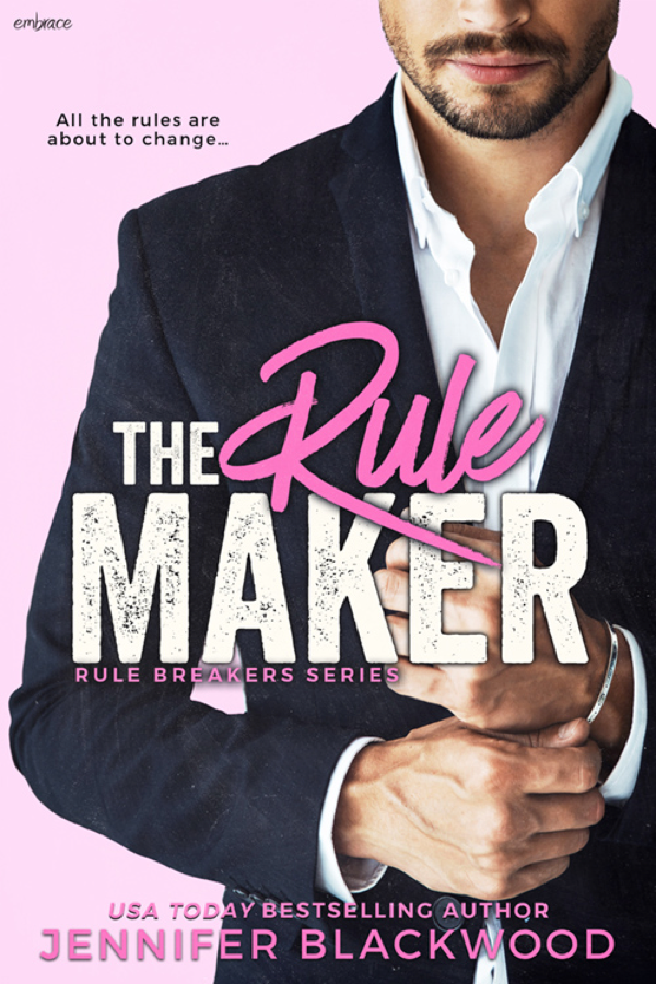 Cover Reveal: Jennifer Blackwood's THE RULE MAKER