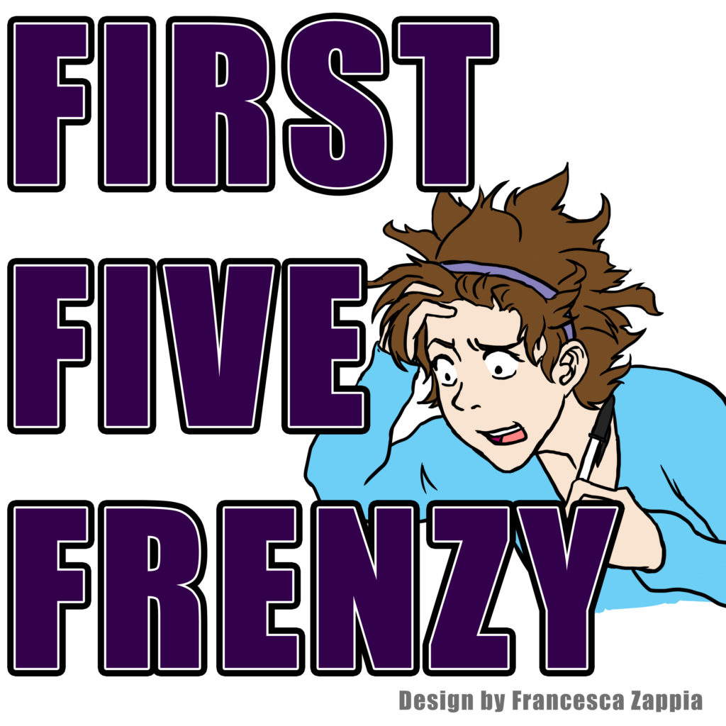 FIRST FIVE FRENZY with Stacey Graham of Red Sofa Literary